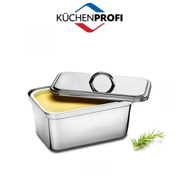 Margarintartó doboz, szögletes