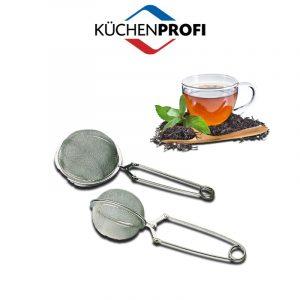Tea- fűszertartó gömb rugós 4,5 cm